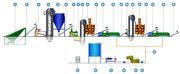 Линия производства растительного масла