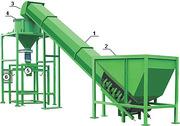 Комплекс фасовки мягких контейнеров ( 20 т/ч)