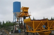 Бетонный завод HZS25,  Китай