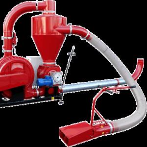 Пневматические транспортеры для зерна «POM» (с приводом от электродвиг