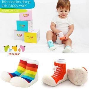 Детская обувь Attipas и одежда Happy Organic