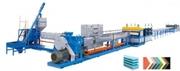 Линия по производству пенополистирольных плит(XPS),  Китай
